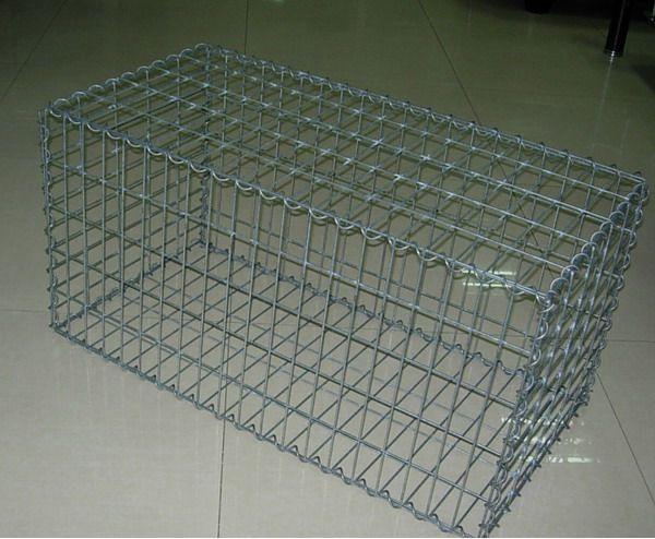 镀锌电焊石笼网箱,焊接格宾网,河道防护网箱,边坡防护网,安全网,