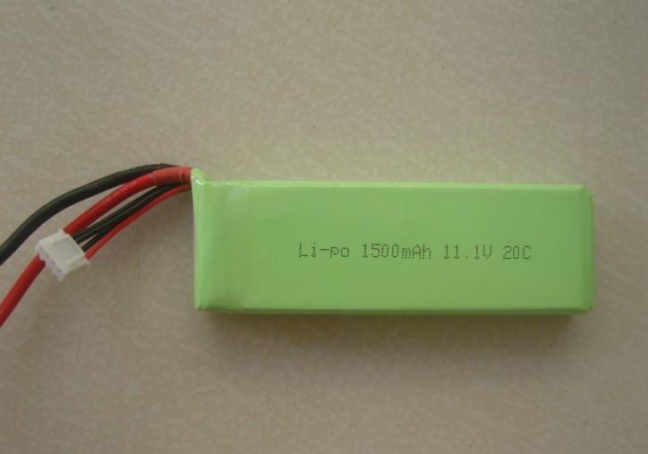 11.1V聚合物电池组