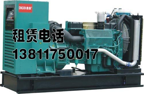 11.58沧州发电机出租 发电机租赁13811750017