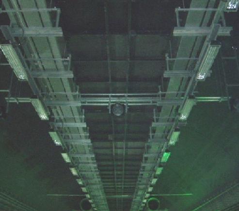 电缆桥架安装空距测视频图片