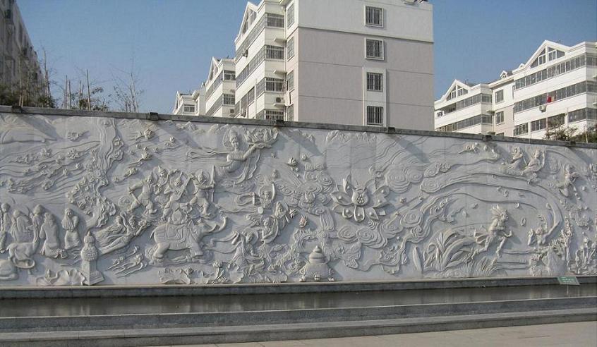 石雕佛像壁画浮雕,观音菩萨,释迦摩尼罗汉佛像,寺庙宗教石雕系列