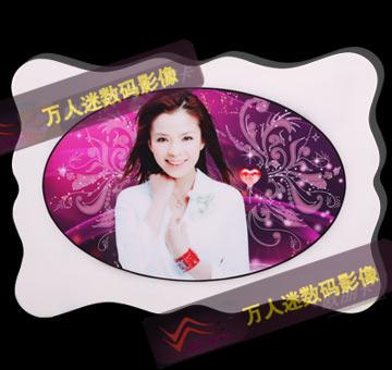 水晶烤瓷相框批发厂家 韩国水晶相框,水晶相片,无框画,无框画批发