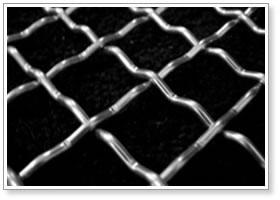 不锈钢轧花网|黑丝轧花网|喇叭网
