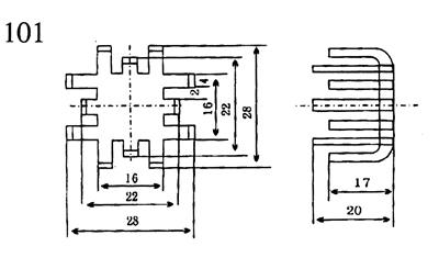 叉指形散热器-铝型材散热器-仪表散热器-镇江型材散热器厂家