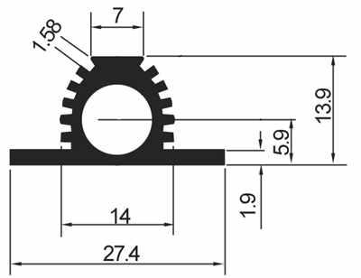 型材散热器-型材电子散热器-散热器价格-镇江电子散热器厂家