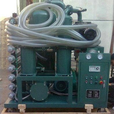 高效双级真空滤油机,变压器油净油机