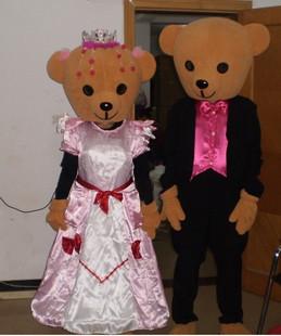 定制卡通人偶服装泰迪熊