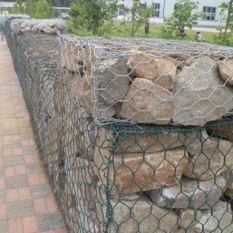 高镀锌钢丝石笼 高尔凡格宾网 格宾网箱式防洪堤