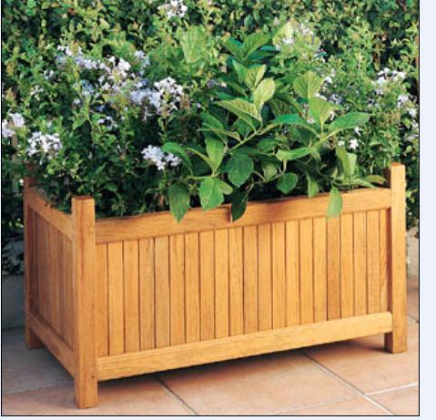防腐木花箱、户外花箱、木质花箱、深圳木花箱、实木复合花盆