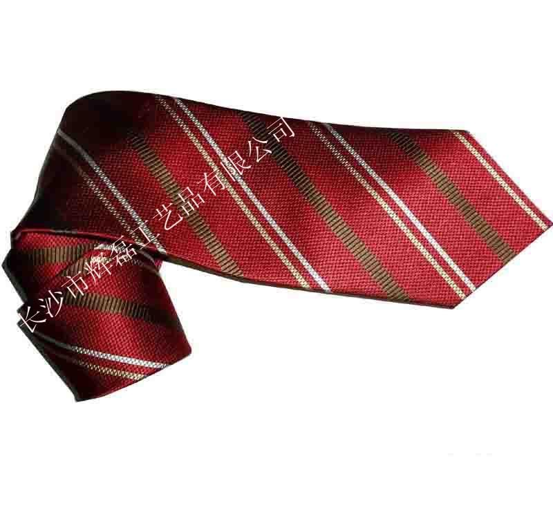 长沙领带100%真丝印花领带高档桑蚕丝领带定做