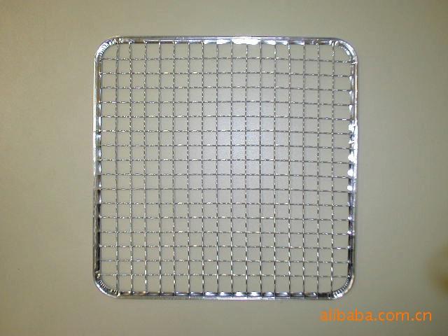 供应包边烧烤网,不锈钢烧烤网,镀锌丝烧烤网