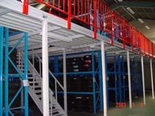阁楼式货架 层板式货架 货架图片