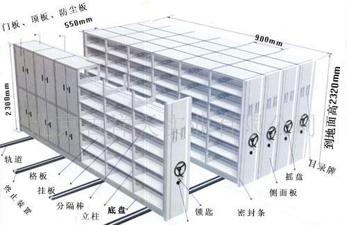 移动档案柜 档案柜厂家 档案柜规格
