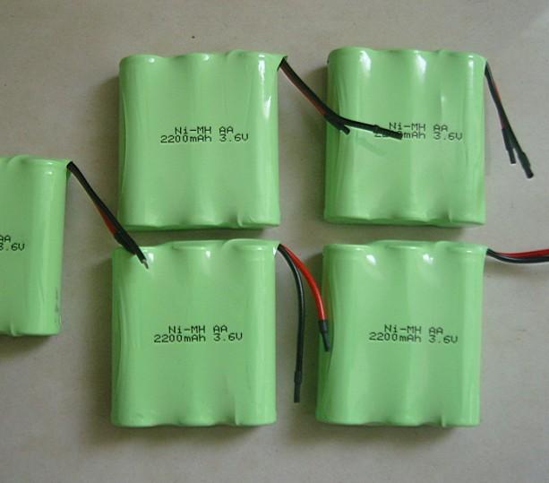 3.6V镍氢电池组
