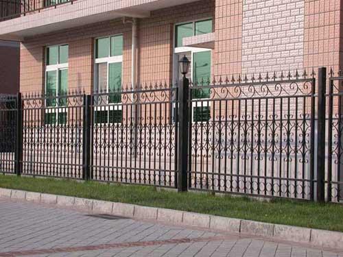铁艺欧式围墙栏杆