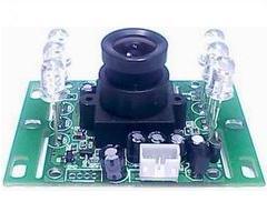 正腾原装1/3LG黑白420线CCD可视门铃摄像模组
