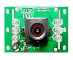 正腾原装1/4PC1030 420线彩色CMOS可视门铃摄像模