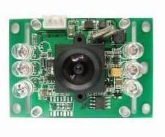 正腾原装1/4SHARP彩色420线CCD可视门铃摄像模组