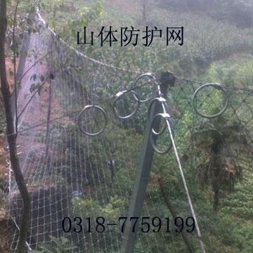 RX-075被动防护网  山体拦石网