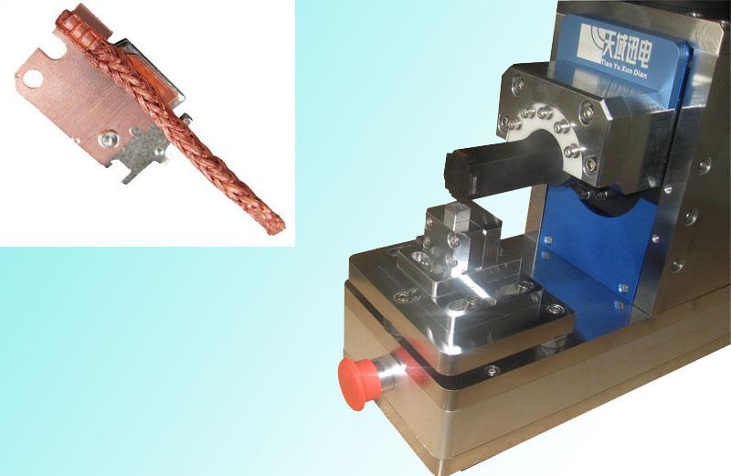 佛山铜绞线铜编织线金属焊接机