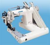 日本重机曲臂型三针链缝缝纫机 MS-1261埋夹机 32000元