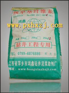 泥浆材料钻井液鸿鑫羧甲基纤维素钠盐