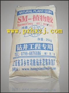 钻井液泥浆材料江西鸿鑫SM植物胶