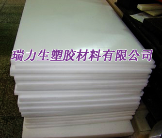 进口白色UPE板材水绿色UPE棒材
