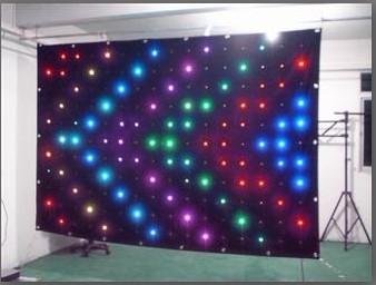 LED视频布 RGB视频布 舞台背景视频布 视频幕布