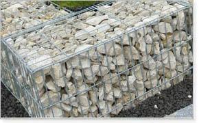 石笼网 石笼网规格 石笼网厂家 锌铝合金石笼网箱 机编网 桥梁石