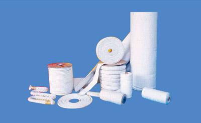 陶瓷纤维纺织品(布,绳,带,纱线,套管)