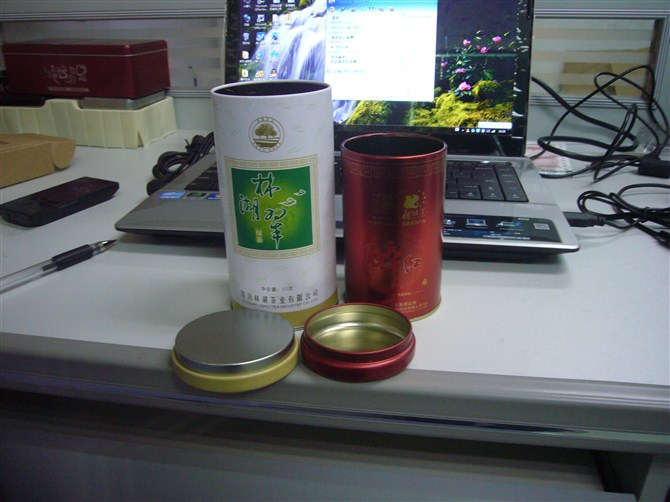 茶叶罐(铁观音)绿茶铁罐,乌龙茶包装罐,设计茶叶,设计包装罐子