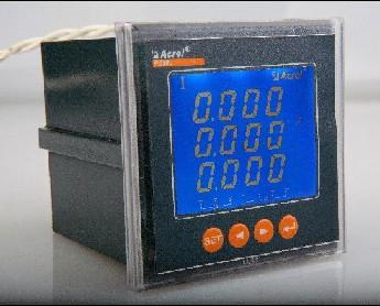 安科瑞单相数显电压表 PZ72L-AV PZ80L-AI