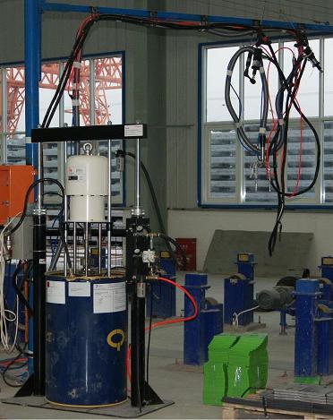 双立柱定量黄油机