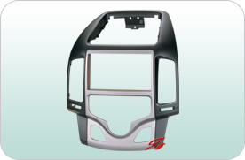 车载DVD主机改装面板/汽车音响改装面板现代I30
