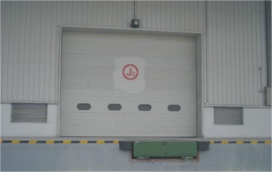 浙江工业滑升门,仓库工业提升门,杭州工业门厂家