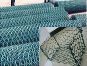 双绞石笼网 五绞石笼网 电焊石笼网 格宾网 铅丝石笼 雷诺护垫