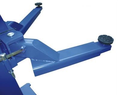 2-2e液压双柱举升机 产品结构特点: 立柱一次整体成型,液压动力驱动图片