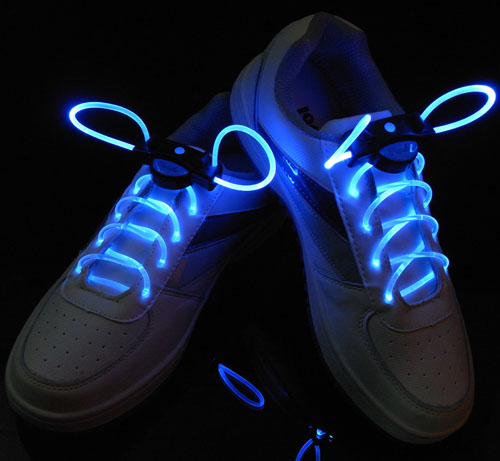 圣诞节礼品 圣诞节助威道具 万圣节助威道具 发光鞋带