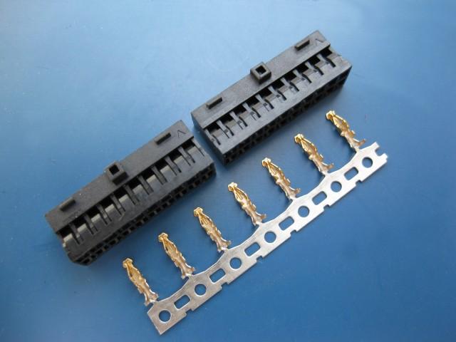 专业生产MX2.0黑色双排连接器、云南连接器、昆明连接器