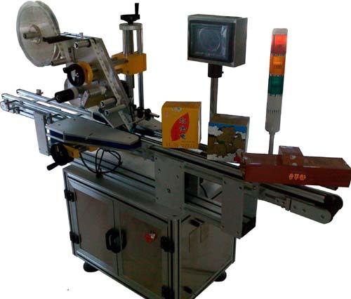 专用于纸盒单封口、对角封口的不干胶贴标机