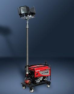 发电机照明车,SFW6110B-升降应急工作灯4.5米-移动升降