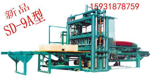 水泥砖机液压砖机便道砖  该设备为震压式单柱式成型制砖机