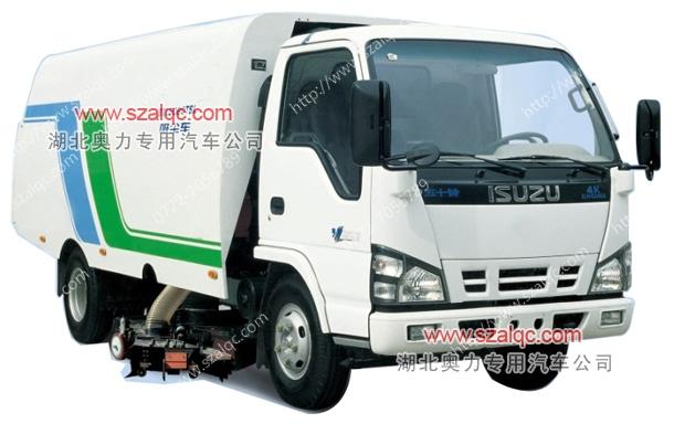 五十铃全气动干式吸尘车 汉中市纯吸式清扫车配件