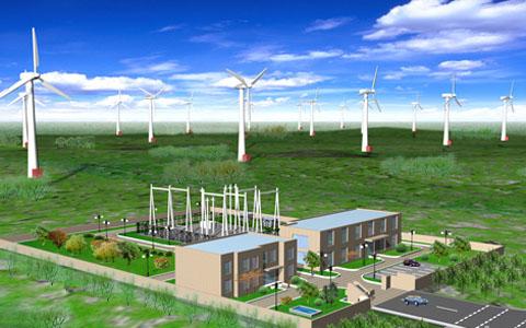 风力发电工程项目三维虚拟现实技术应用