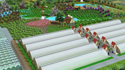 三维农业区域规划平台系统