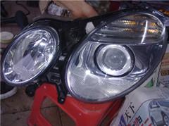 供应奔驰ML350汽车配件,大灯,尾盖,车门,节气门等拆车件