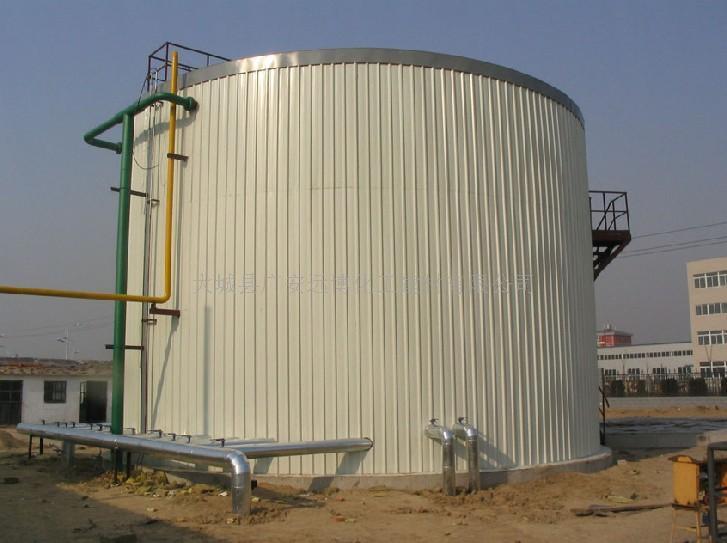 储油罐储水罐体铁皮保温彩钢板瓦楞板保温施工队