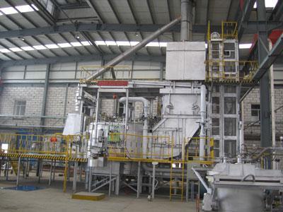 铝合金快速集中熔化炉