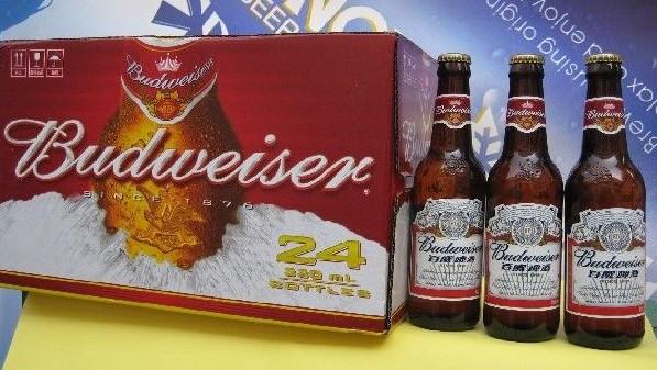 批发低价 百威啤酒 雪花啤酒 蓝带啤酒